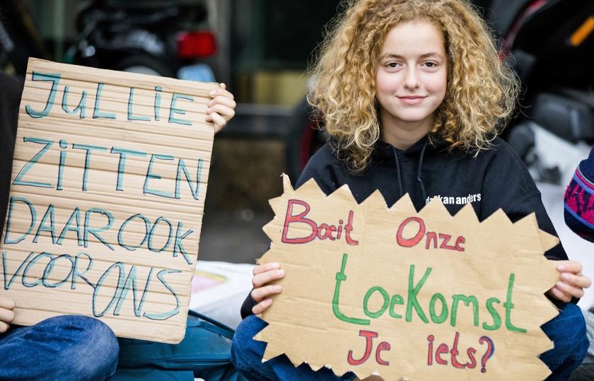 Klimaatverzuimgedicht Jouw Toekomst Boeit Me Niet Nederlands