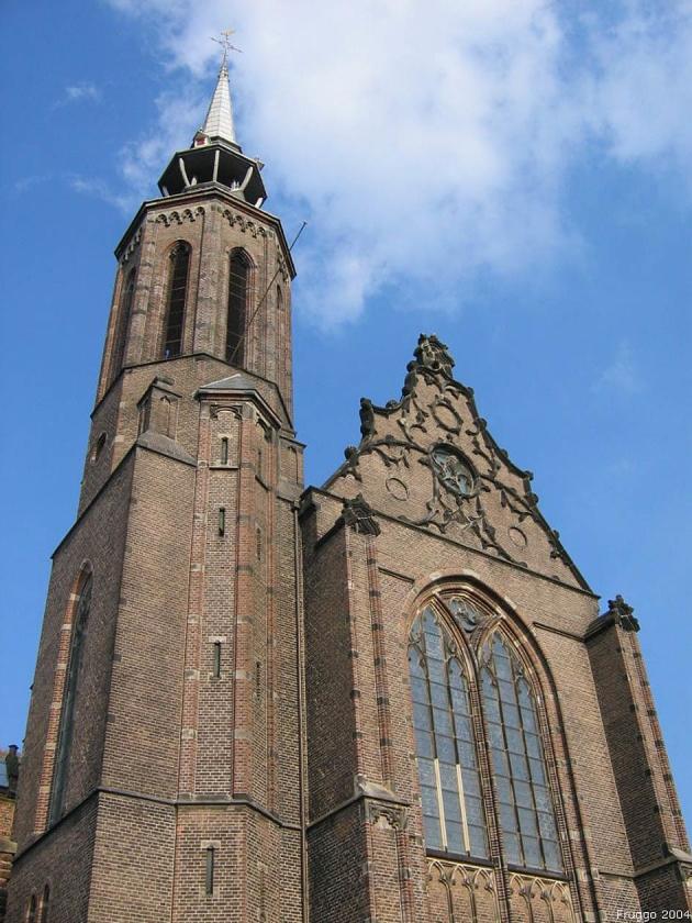 Het contract voor de verkoop van de Sint-Catharinakathedraal in Utrecht aan Museum Catharijneconvent is nog niet getekend.   (wikipedia / Fruggo)