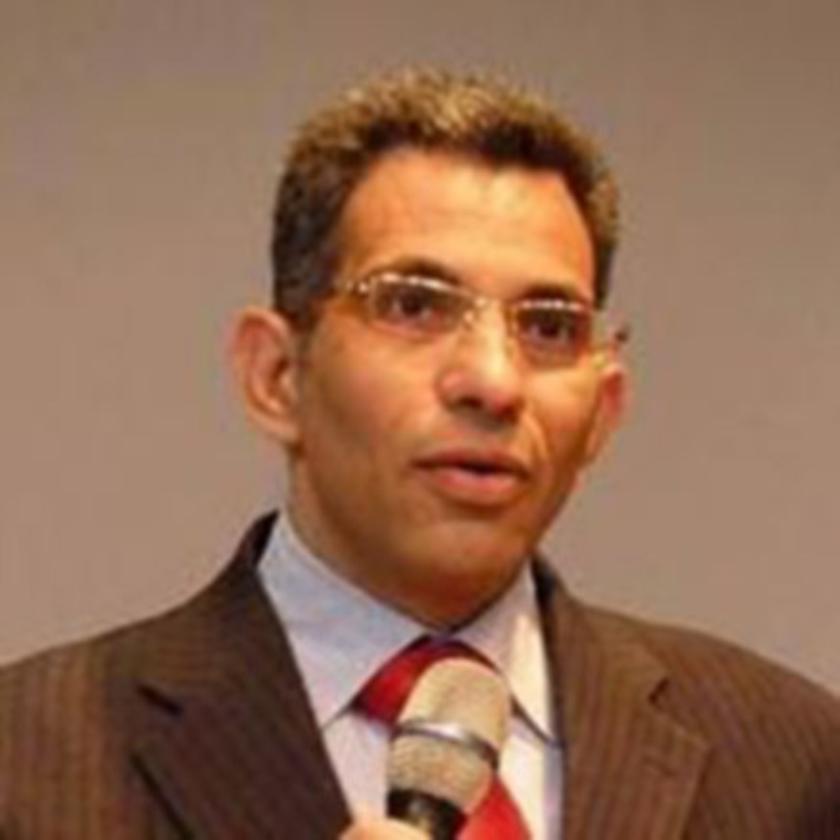 De Egyptische dominee Emad Thabet.   (nd)