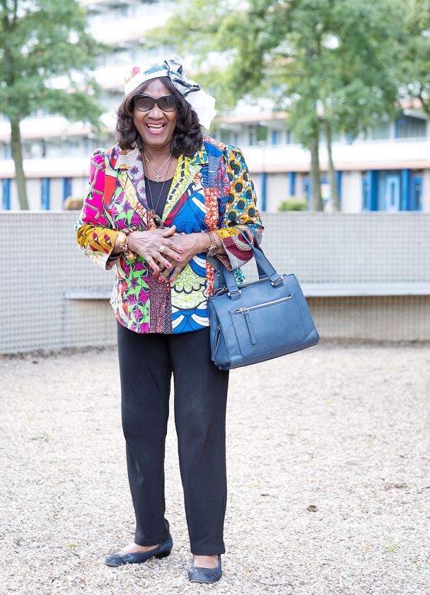 Om het lijf: De kledingkeuze van Helen Burleson   (Niek Stam)