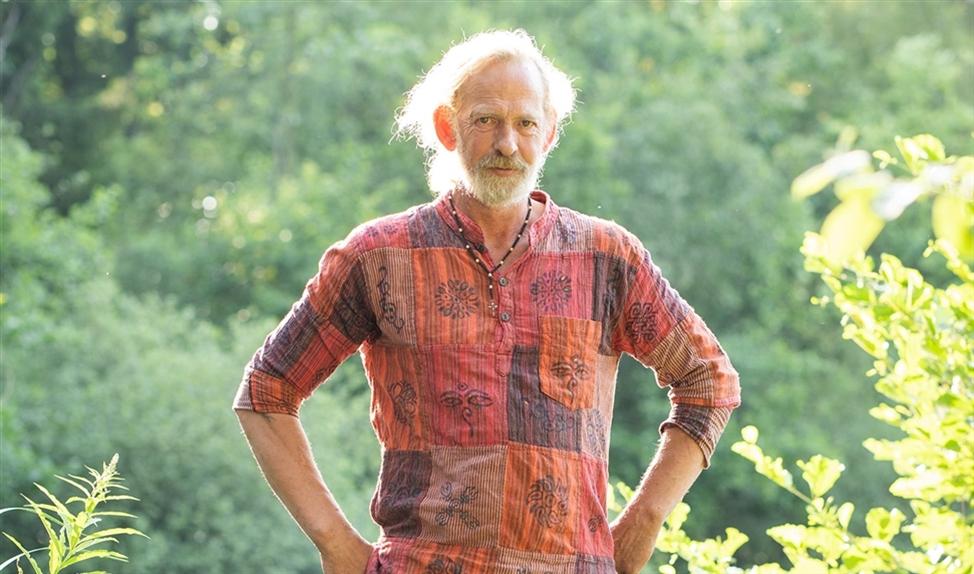 De kleding van Trevor Whittacker: 'Doordeweeks een harembroek, 's weekends een kilt'   (Niek Stam)