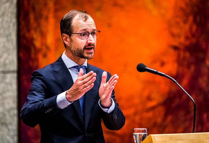 Minister Eric Wiebes  (anp / Remko de Waal)