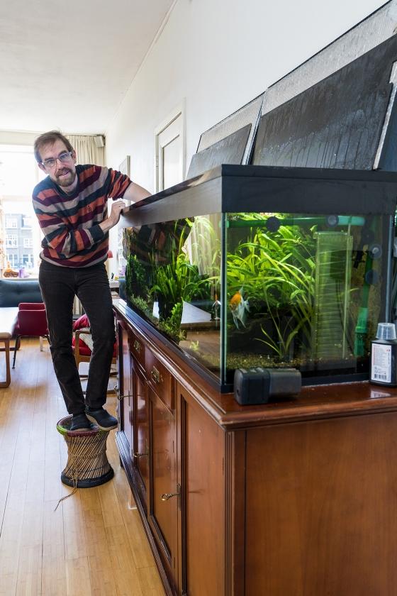 Axel Wicke: 'Ik breng veel vrijetijd door met mijn Maanvissen'  (Hielco Kuipers)