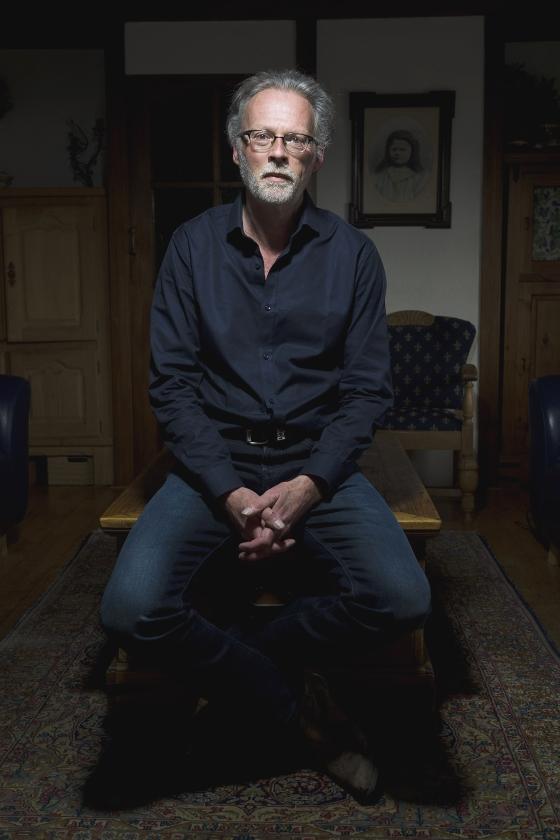 Gerhard Hormann: 'Door films kun je opnieuw verliefd worden opje partner.'  (Richard van Hoek)
