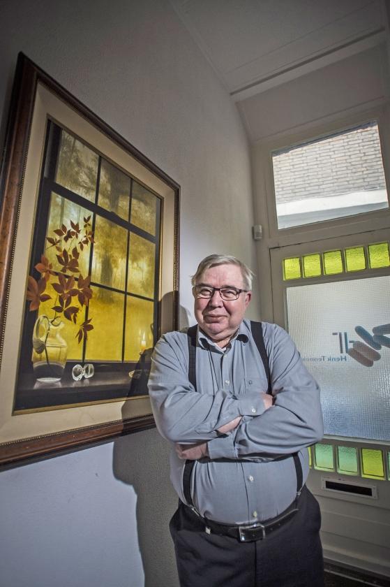 Toxicoloog Hans Tennekes: 'Zonder insecten gaan mensen er ook aan.'   (Carel Schutte)