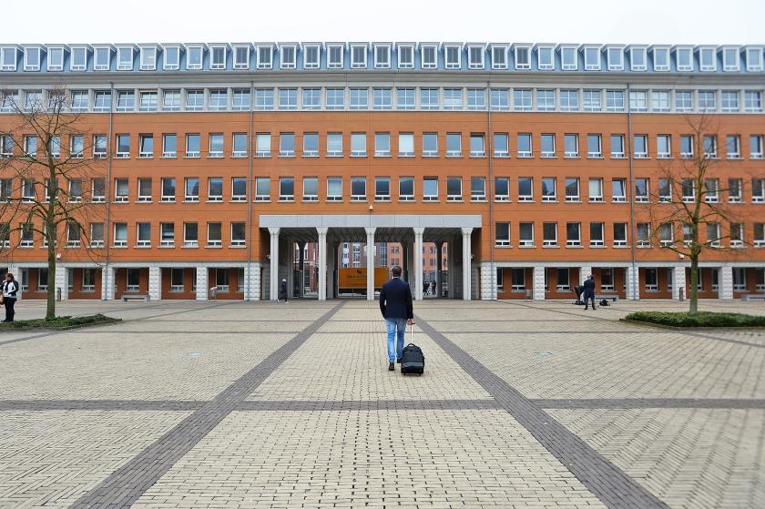 Het gerechtsgebouw in Den Bosch.  (anp / Piroschka van de Wouw)