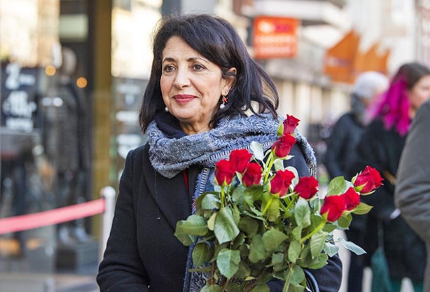 Khadija Arib: ... ongenoegen ...  (anp / Piroschka van de Wouw)