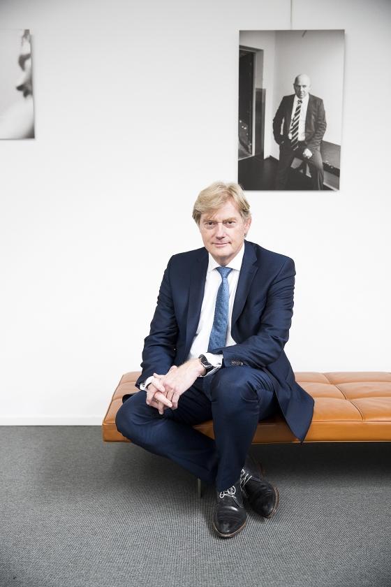 Martijn van Rijn was staatssecretaris en is nu ziekenhuisbestuurder: 'De avonden en nachten zijn een stuk rustiger.'  (Jeroen Jumelet)