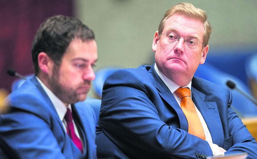Minister Ard van der Steur  (anp)
