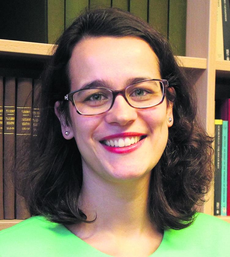 Charlotte Lockefeer: 'Mensen vinden abortus in principe geen goede zaak.'   (nd)