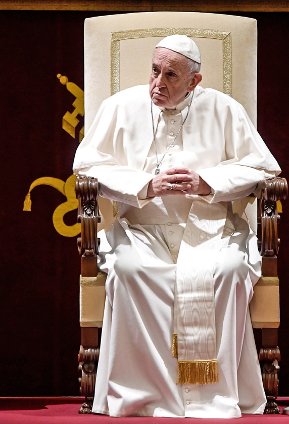 Paus Franciscus  (afp / Filippo Monteforte)