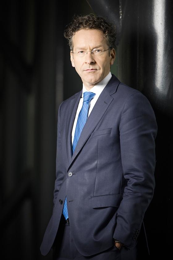 Jeroen Dijsselbloem: 'De crux voor mij is de verkiezingsuitslag.'  (Freek van den Bergh)