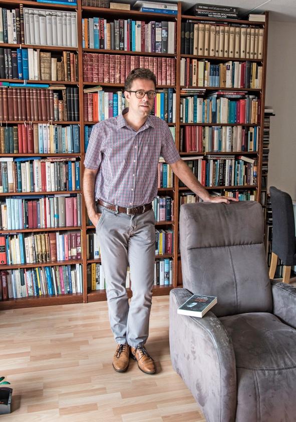Bart Wallet: 'Kertész is ook belangrijk voor me omdat er veel puzzelstukjes in elkaar vielen toen ik hem ontdekte.'  (Martin Waalboer)