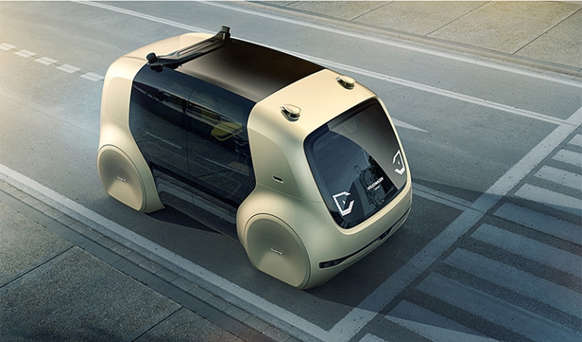 VW Sedric, roltrap van de toekomst.