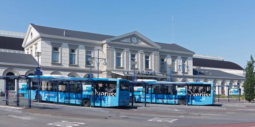 De gemeente Zwolle wil het treinstation in Zwolle de toevoeging 'Centraal' geven.  (wikimedia)