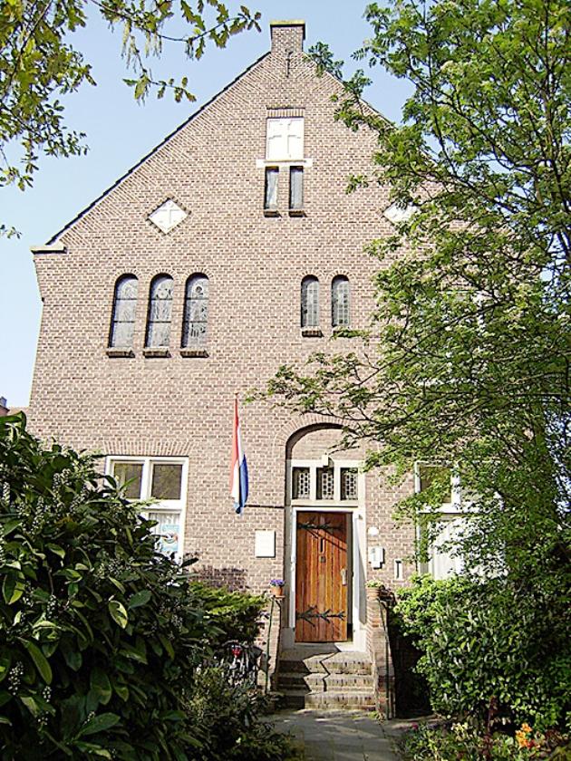 Het klooster aan de Moesstraat in Groningen.   (stichting de Poort)