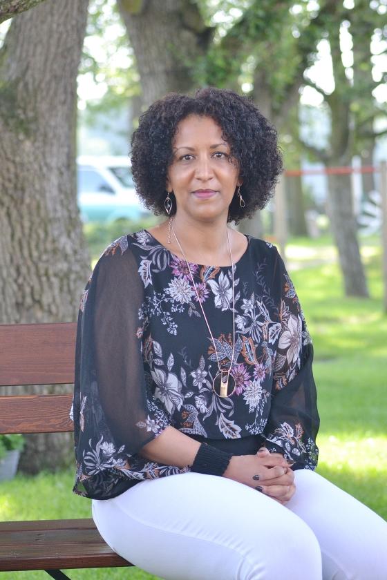 Helen Berhane: 'Ik heb God nooit de schuld gegeven, al vroeg ik me wel af wat voor goeds uit dit lijden moest komen.'   (nd)