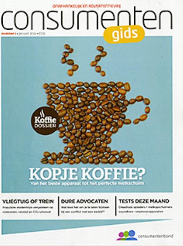 Blogs & bladen: droog je uit van koffiedrinken?