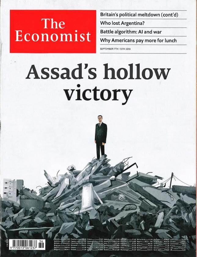 Blogs en bladen: Zege Assad maakt geen einde aan chaos