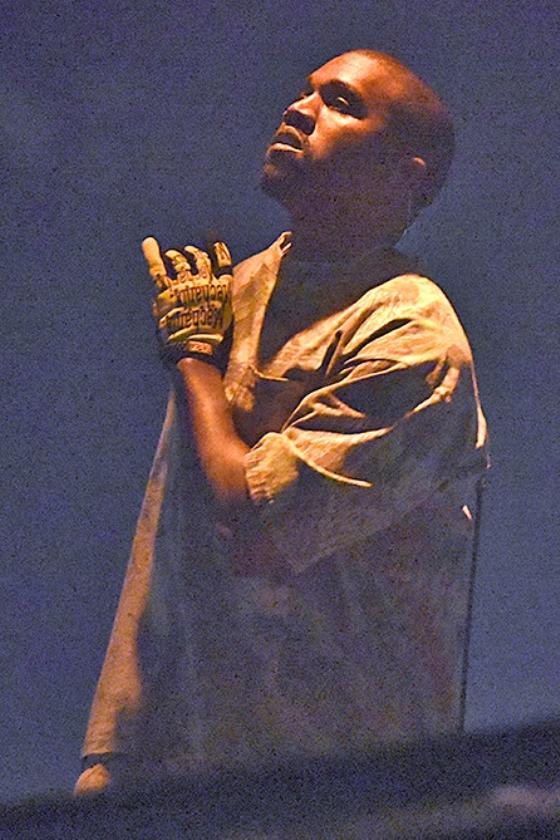 Kanye West   (ap / Rob Grabowski)