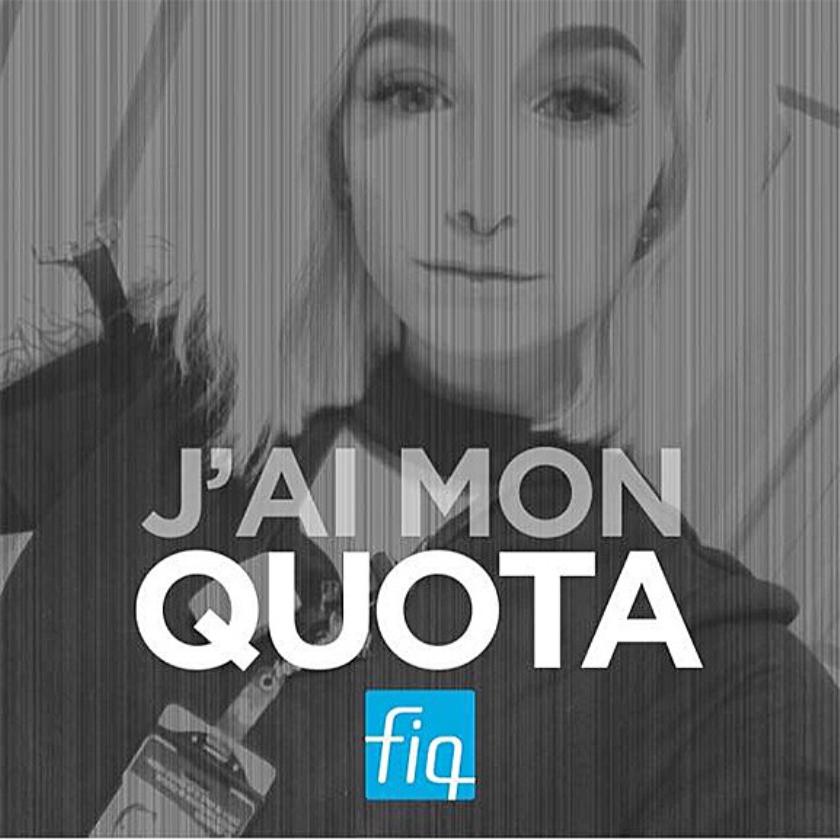 Protest van Émilie Ricard op Facebook: 'Ik heb mijn quota wel gehaald.'  (facebook)