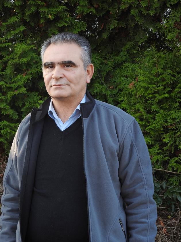 Echoue Gouriye, christelijk leider van de Syriac Union Party in het noorden van Syrië: ISIS gaat het onderspit delven.   (nd en syriac military council)