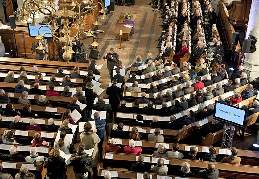 Nationale Synode in Dordrecht  (anp / Robert Vos)
