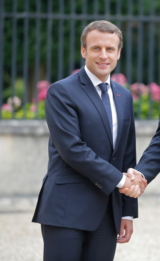Emmanuel Macron (Frankrijk)  (ap en anp)