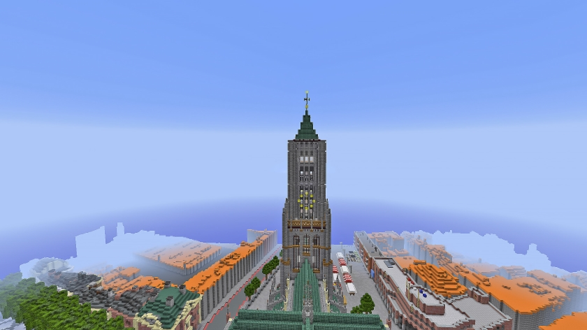 Bouwen aan Nederland in Minecraft  (nd)