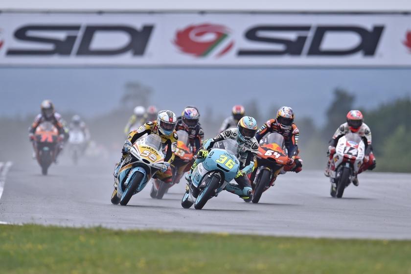 Als de belangrijke MotoGP-klasse een e-klasse krijgt, zou dat ook in technologisch opzicht een impuls betekenen voor elektrisch motorrijden.  (Urélie Geurts)