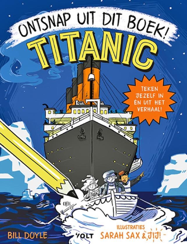 Kinderboeken: Titanic, ontsnap uit dit boek!, De dikste opa van de wereld en Fantastische foto's