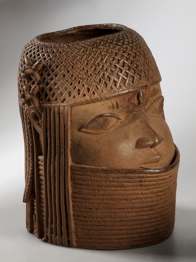 Hoofd van een vorst (1600-1750)...  (Nationaal Museum van Wereldculturen)