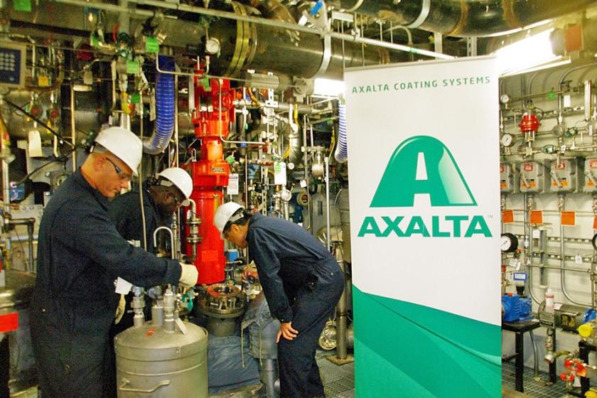 Axalta maakt lakken voor onder meer auto's en voor de industrie. Het bedrijf heeft ruim 13.000 mensen in dienst.  (epa)