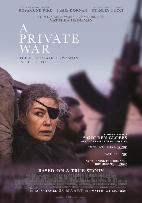 Film: A Private War - De echte oorlog wordt thuis uitgevochten