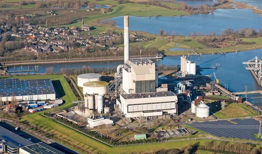 Kolen-biomassacentrale in Nijmegen.  (anp / Bram van de Biezen, avrotros / eenvandaag)