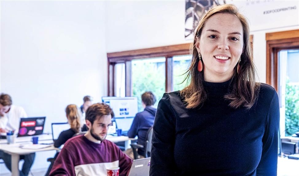 Directeur Nina Hoff van byFlow foodprinters.