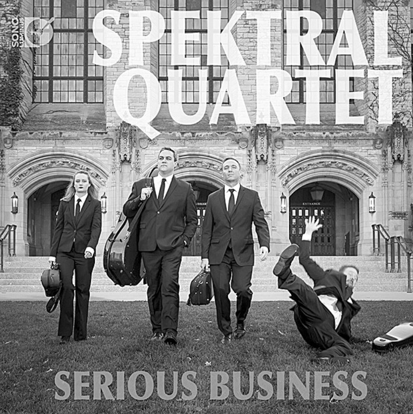 CD: Spektral Quartet-Serious Business