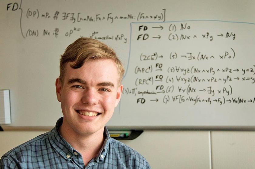 Stefan Buijsman: 'Met wiskunde begrijpen hoe Google zoekresultaten vindt.'  (vk)