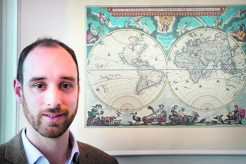 Joost Hengstmengel: 'Economie stond vroeger in positief daglicht.'  (Henk Visscher)
