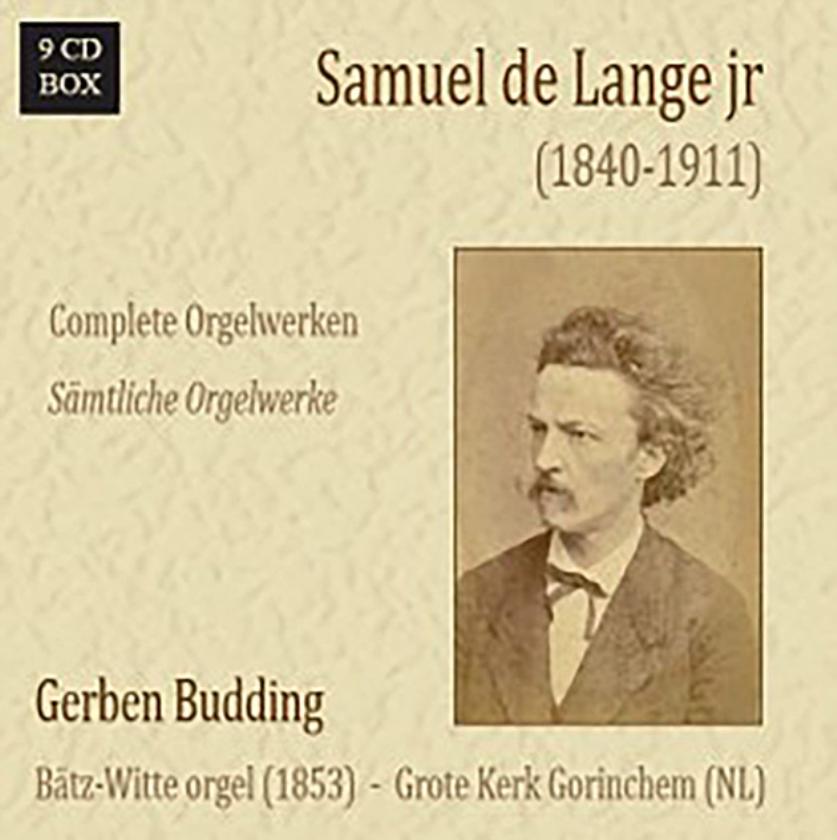 CD: Gerben Budding-Samuel de Lange jr-Complete orgelwerken