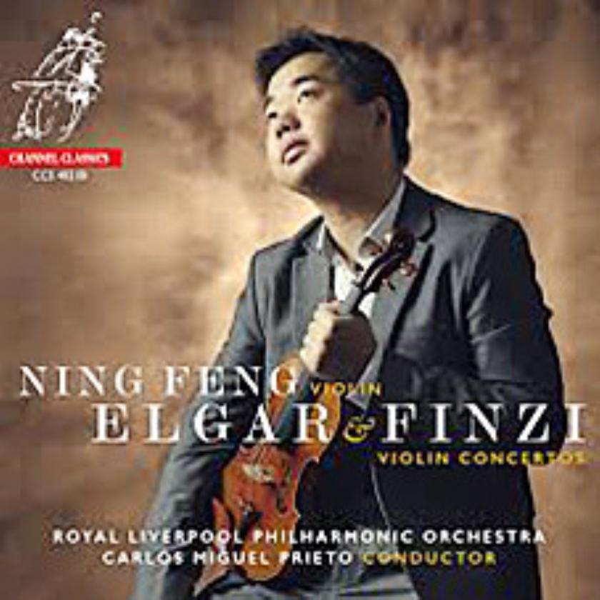 CD: Ning Feng - Elgar & Finzi - Violin Concertos