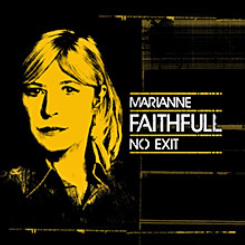 CD: Marianne Faithfull - No Exit