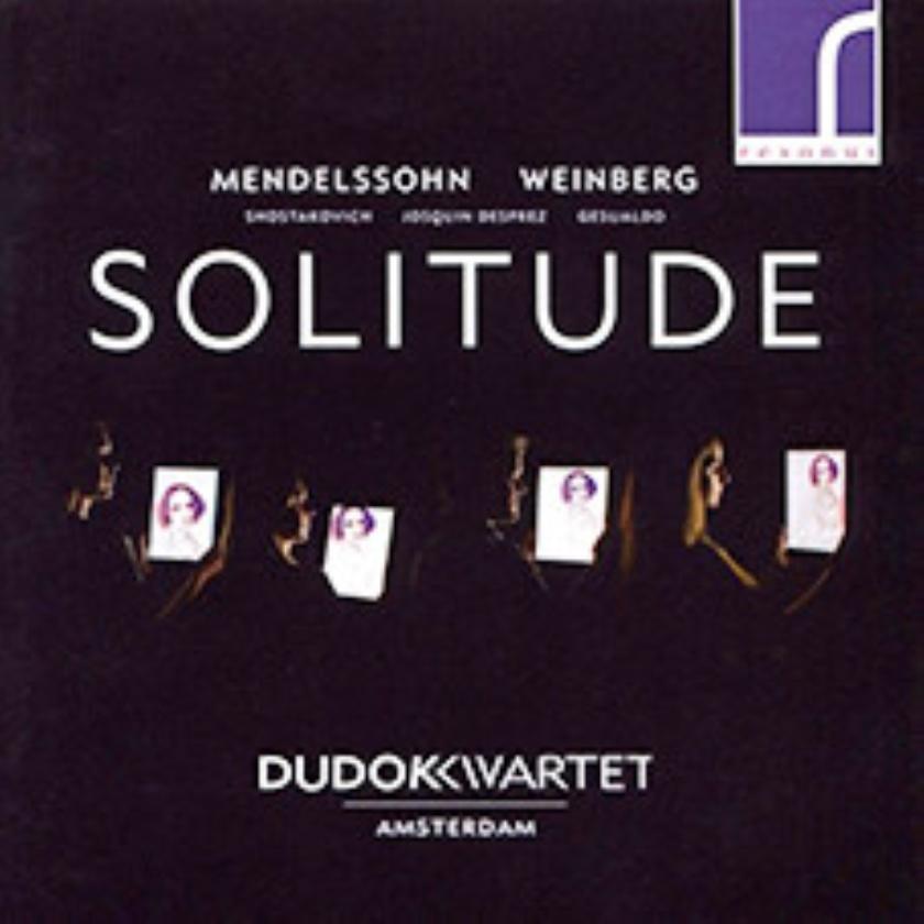 CD: Dudok Quartet Amsterdam - Solitude