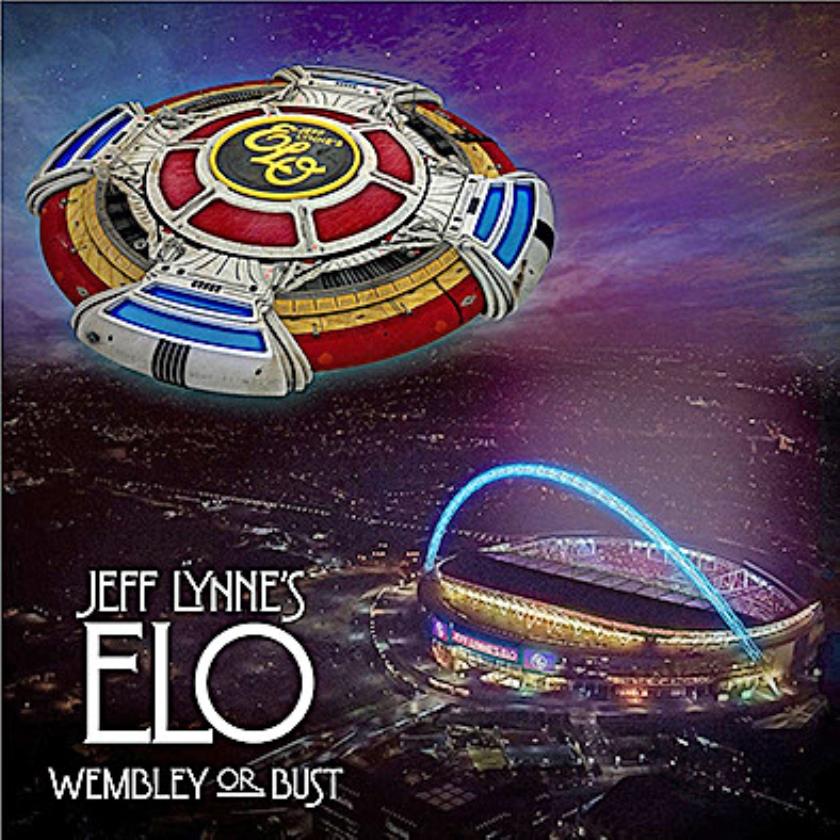CD: Jeff Lynne's ELO - Wembley Or Burst