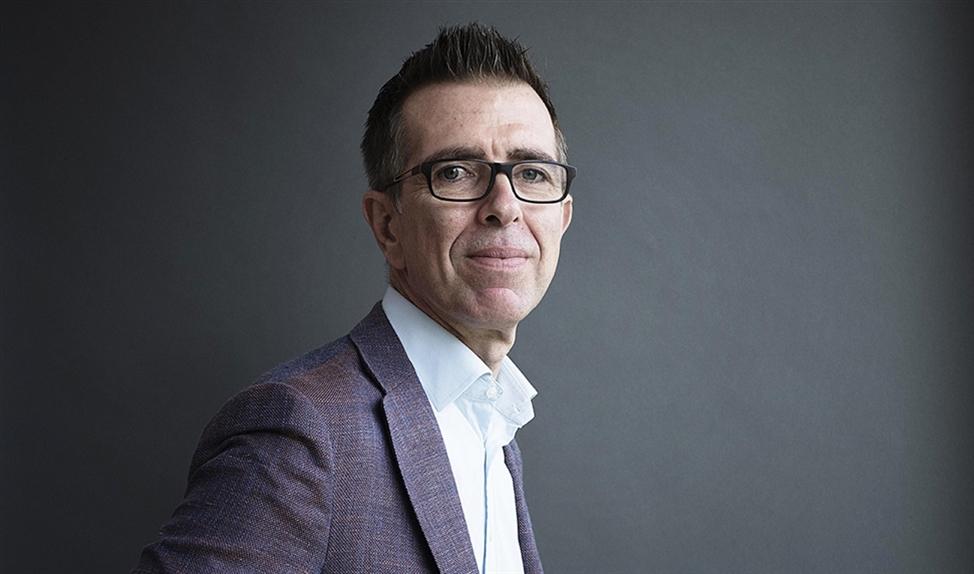 Phill Robinson, de Britse topman van softwarebedrijf Exact, heeft parkinson. 'Ik heb nog nooit een dag vrij genomen sinds ik hier werk.'