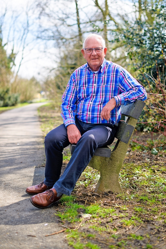 Ouderenportret: Henk Bouwmeester (76)   (Richard van Hoek)