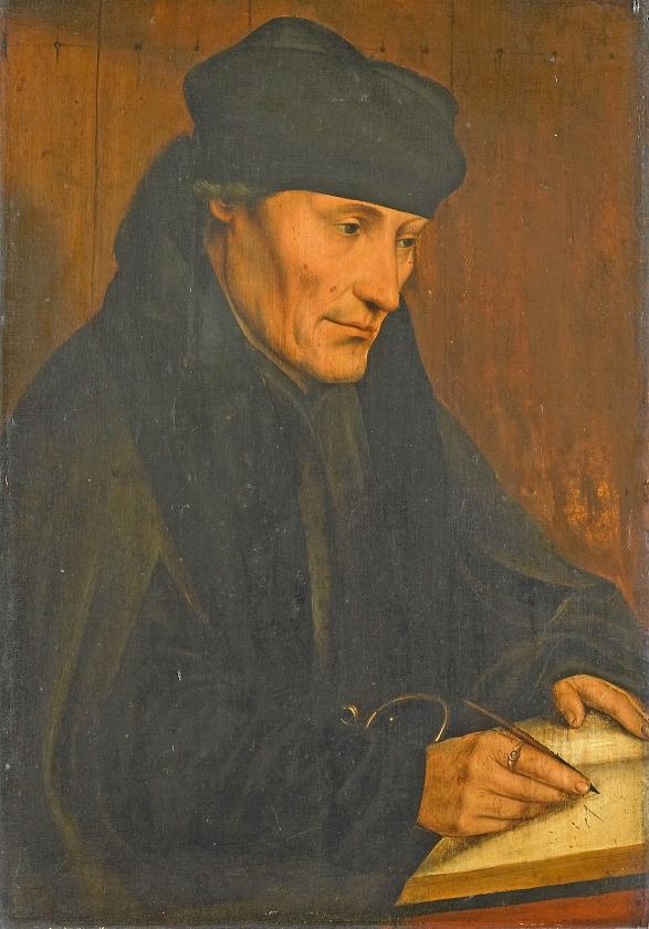 Pedagogen: Erasmus' adviezen voor vrome harten en correct gedrag   (Wikimedia)