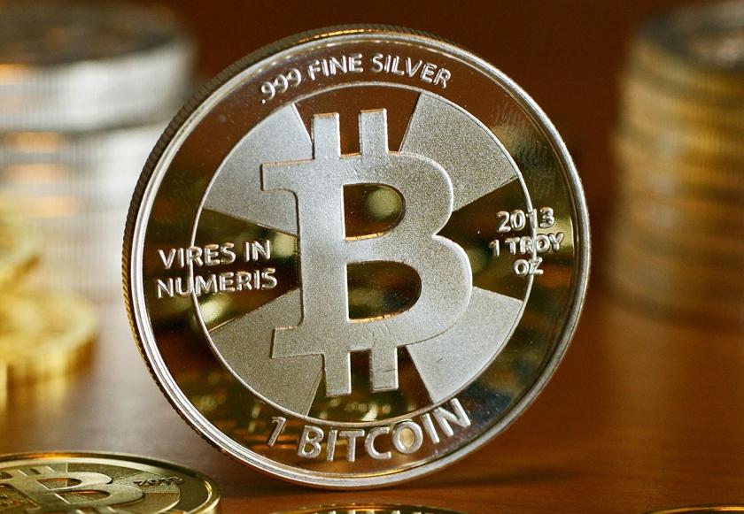 Bitcoinmunt  (ap / Jens Kalaene)