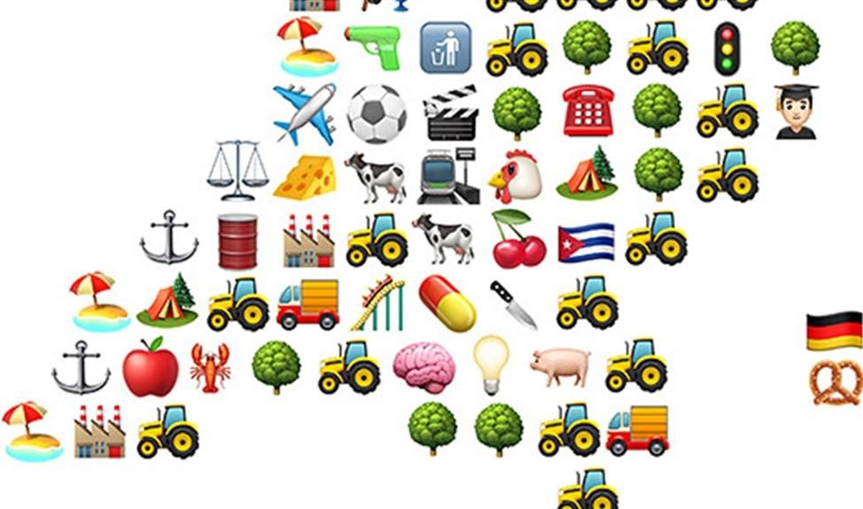 Viral: Nederland in emoji's