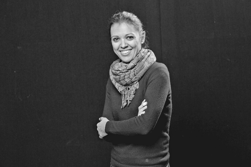 Francesca Borri: 'Voor slow journalism is steeds minder ruimte.'  (ap)